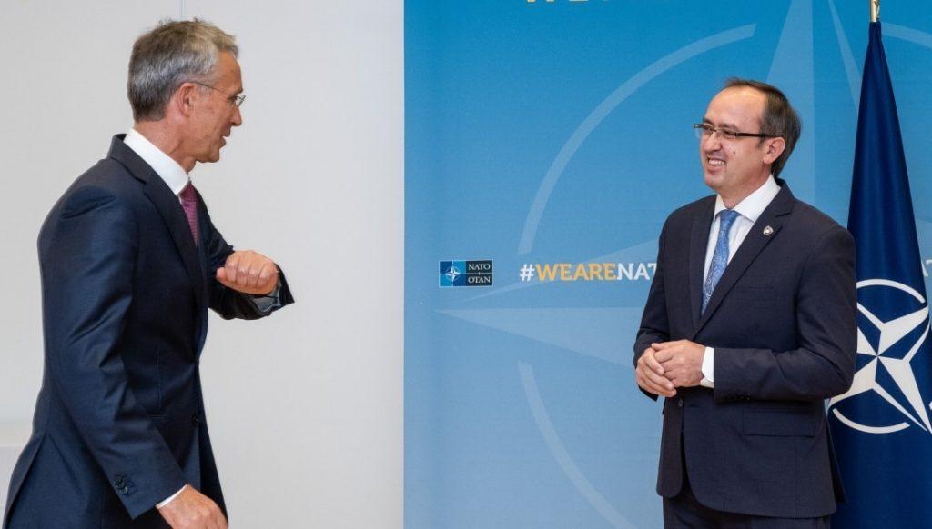 Kosovo Has Clear Goal To Become NATO Member, Hoti Tells Stoltenberg