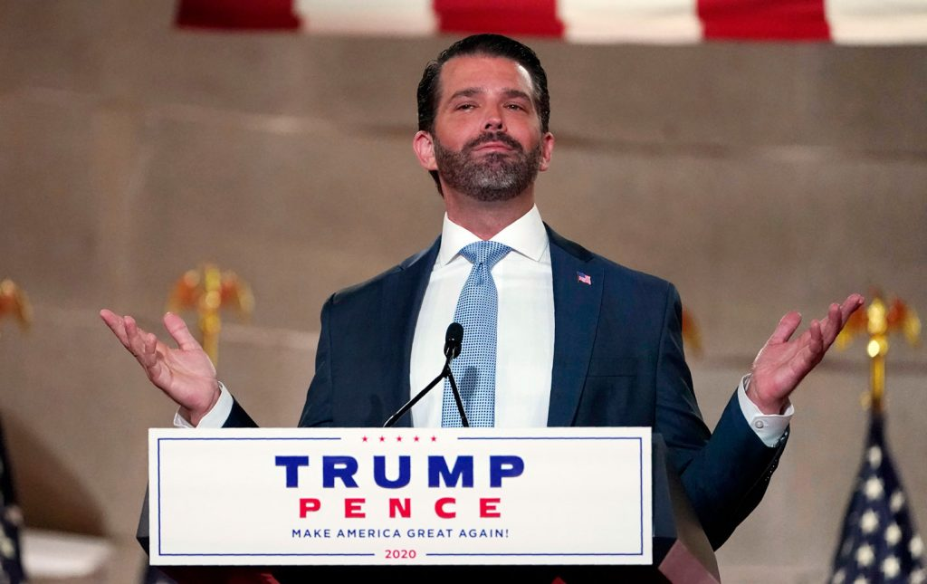 Trump Jr Hails Father's Success In Global Peace After Kosovo Order Of Freedom