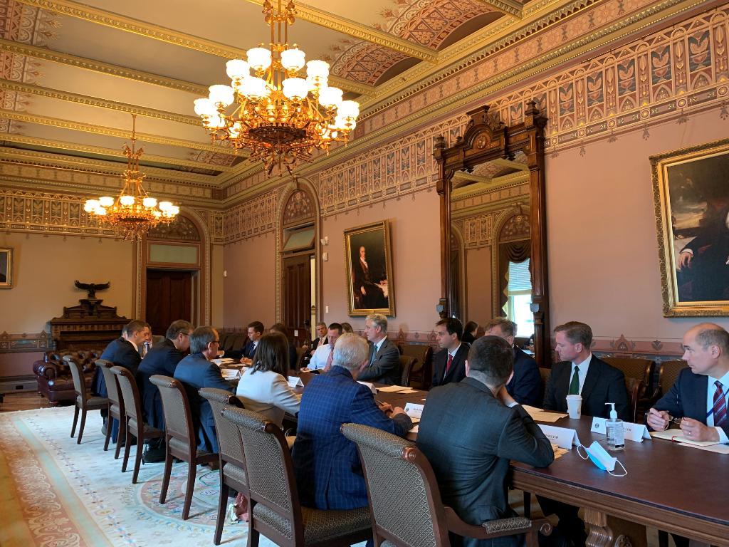 Trump Advisor O'Brien: Leaders Are Making Progress In Kosovo-Serbia Talks At White House