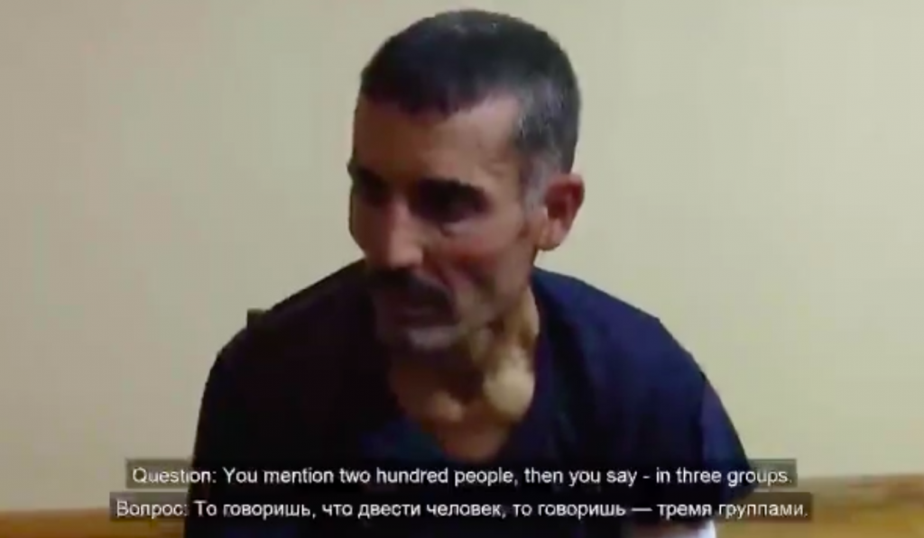 ARMENIA RELEASED VIDEO SHOWING FIRST SYRIAN MERCENARY CAPTURED IN NAGORNO-KARABAKH
