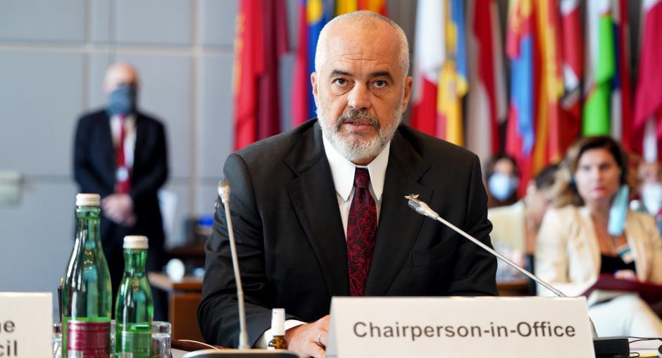 OSCE CiO Edi Rama Applauds Ceasefire Agreed By Armenia And Azerbaijan