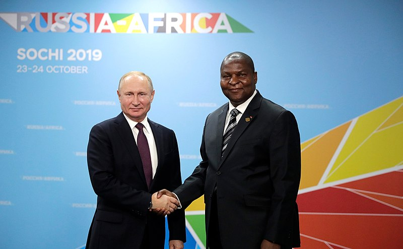 Moscow Opens Military Office In Central African Republic