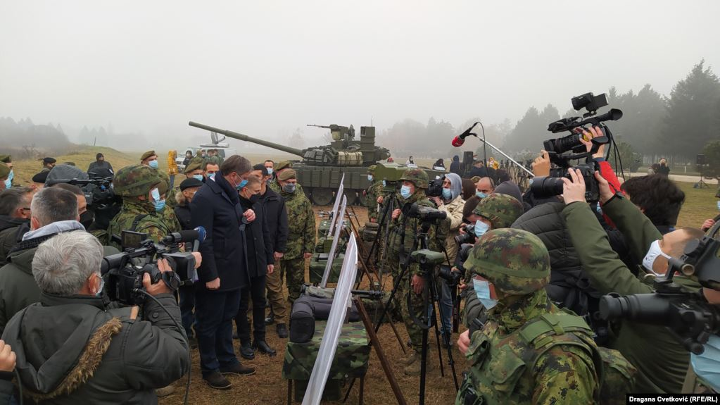 Vučić: 30 Russian Tanks Strengthen Serbia's Combat Readiness and Military Neutrality