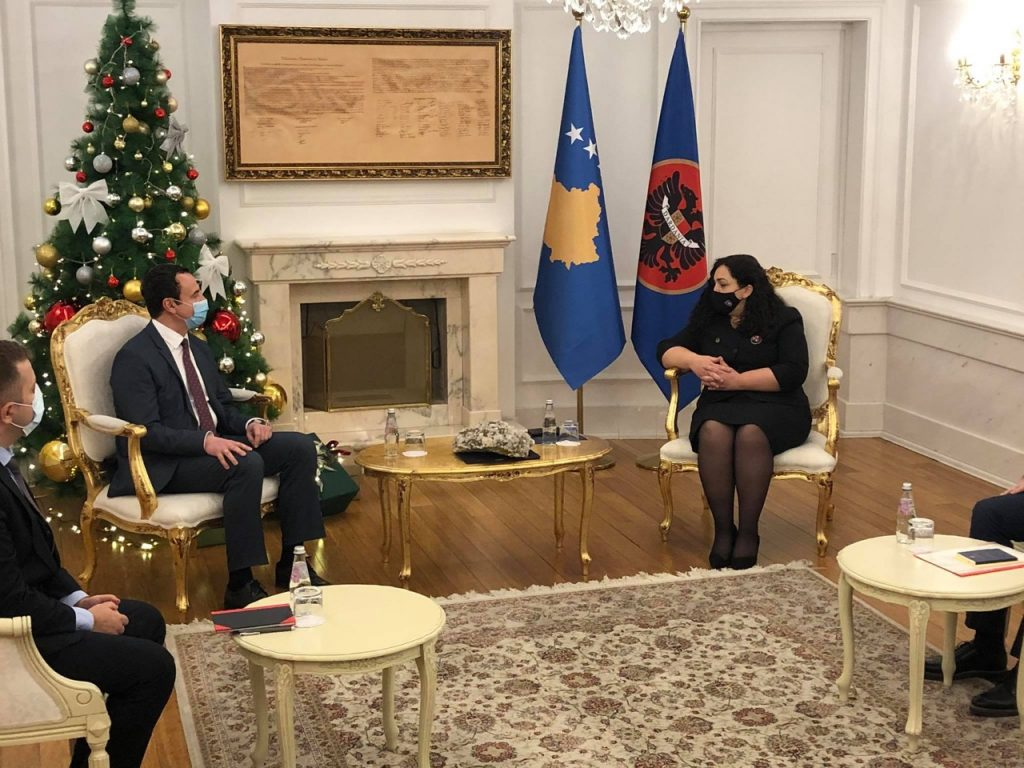Kosovo President And Political Parties Discuss Snap Election Date