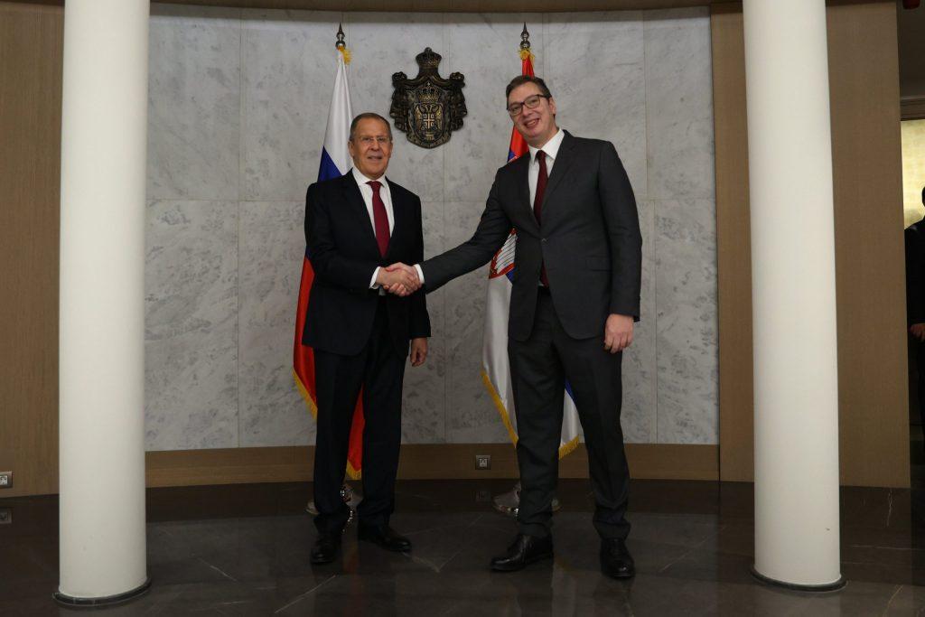 Lavrov Criticizes EU On Association Of Serb Municipalities In Kosovo