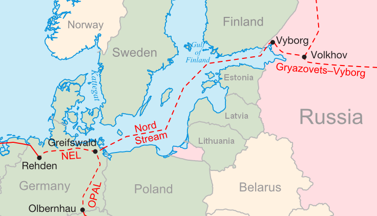 Russia Believes Nordstream II Will Begin Delivering Gas To Germany In 2021