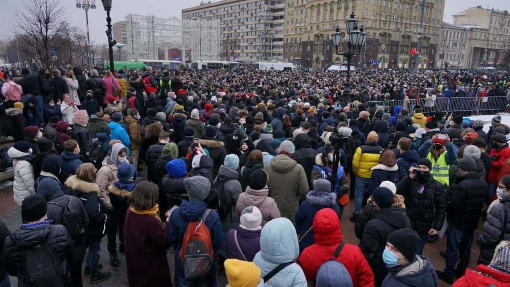 Protests In Russia: A Test Of strength