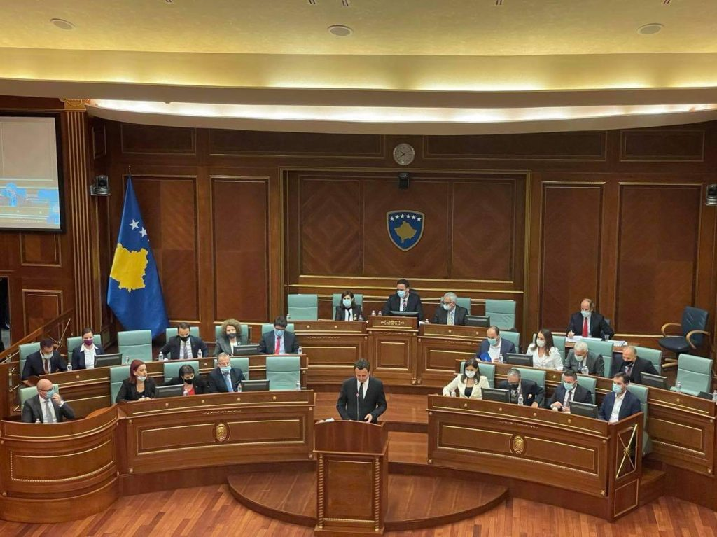 Kosovo Parliament Approves New Government Led by Albin Kurti
