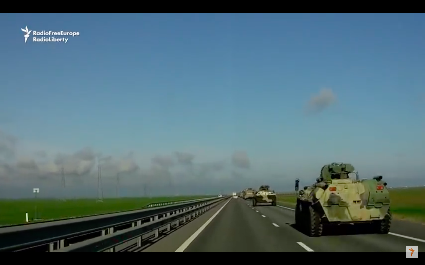 VIDEO: Russian Military Activity Ramps Up In Crimea Along Major Highway From Russia - Tsarizm