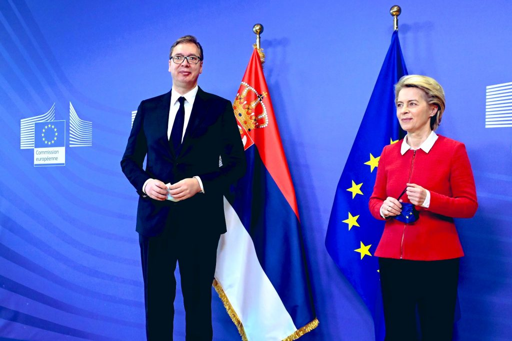 Vucic Discusses Kosovo-Serbia Dialogue With European Leaders in Brussels