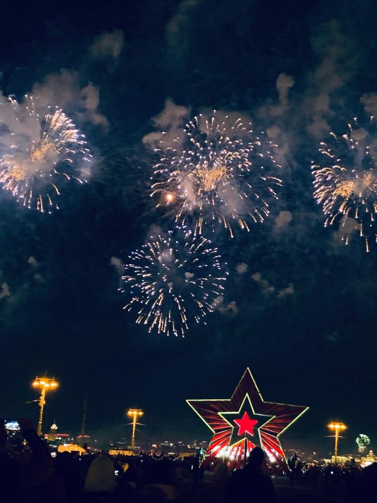 Moscow Celebrates Victory Over Nazi Germany In Victory Day Extravaganza