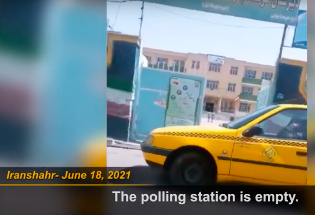 Iranians Hold Massive Boycott Of Presidential Elections, Regime Tries To Blackout Evidence