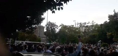 Iranian Uprising Continues In Tenth Day As People Take To The Streets Against Repression
