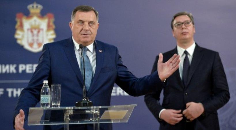 Bosnian Serb Leader Lauds Idea For Creation Of A Unified Serbian World