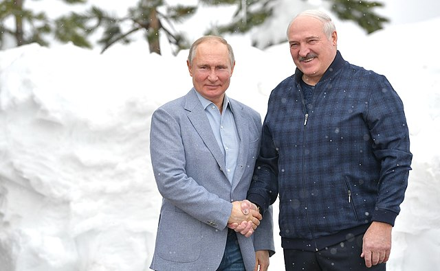 Lukashenko Says He Might House Russian Troops To 'Protect Union State'