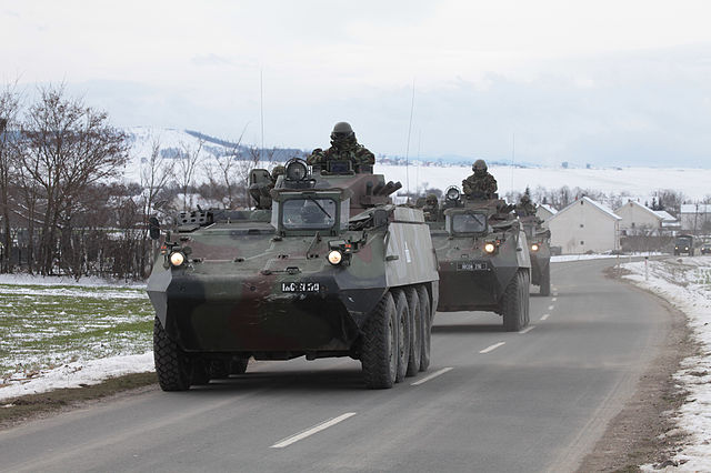NATO Sends More Troops In North Of Kosovo After Serbia's Threats