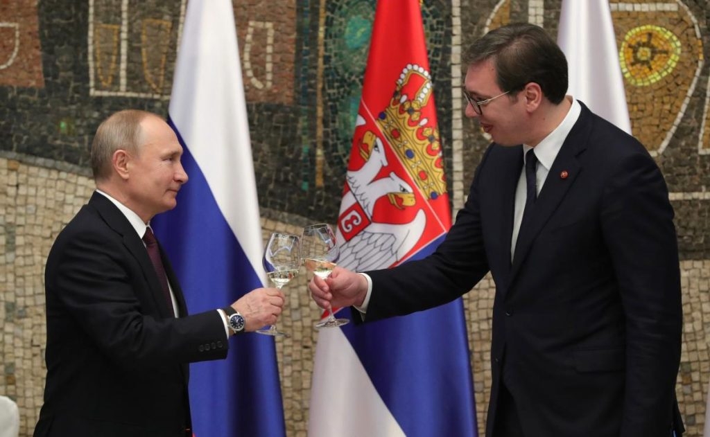 Russia Lauds Strategic Partnership with Serbia