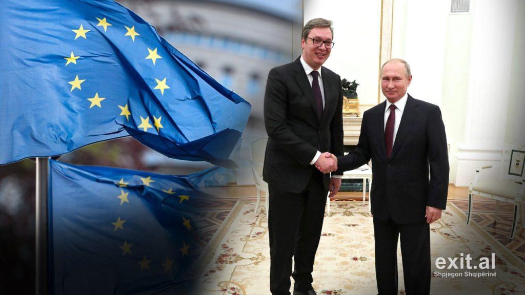 Vučić Praises Russia's Support At EU-Western Balkans Summit